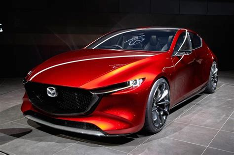 Mazda 3 Previewed By Mazda Kai Concept