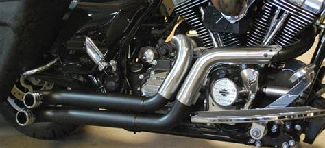 Custom Bagger Exhaust Pipes For Harley Road King, Road