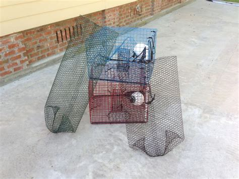 crawfish pillow traps building em all summer crawfish crab traps