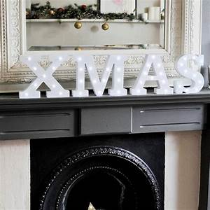christmas light up letters by the letterologists With noel lighted letters