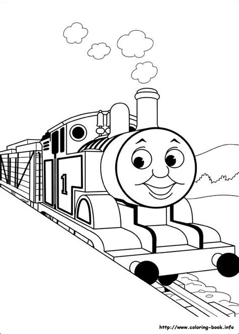 pin  thomas trainy  thomas friends coloring page