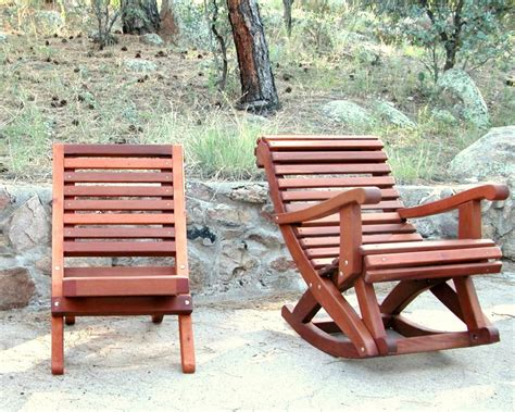 Folding Redwood Beach Chair, Easy To Store Wood Chair