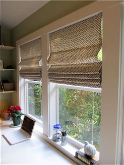 Diy Roman Shades From Miniblinds  Simply Mrs Edwards