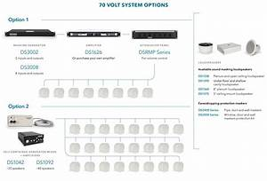 Dynasound Pro 70 Volt Sound Masking System