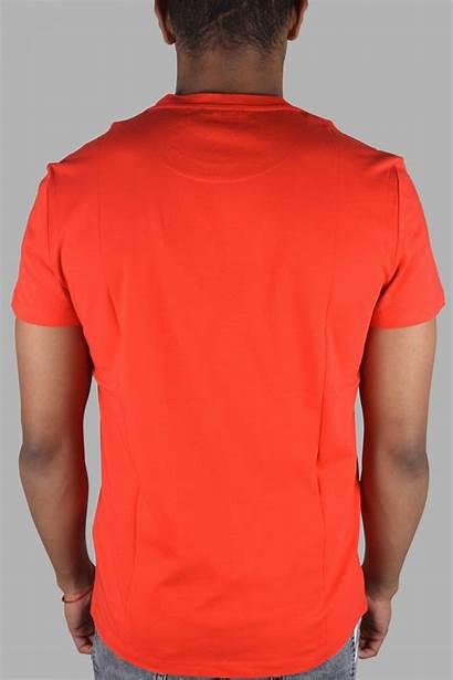 Balmain Tshirt Rouge Rosso Cotton Modadiandrea Relief