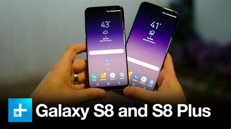 samsung galaxy s8 and s8 plus on