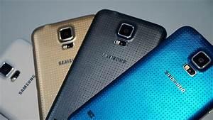 Samsung Galaxy S5 Color Comparison - Feature Focus