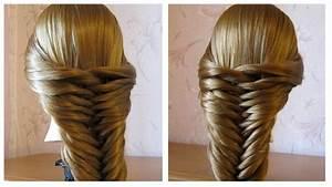 Tresse Facile à Faire Soi Même : tuto coiffure simple cheveux long mi long tresse facile a faire soi meme youtube ~ Melissatoandfro.com Idées de Décoration