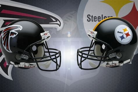 nfl week   atlanta falcons  pittsburgh steelers