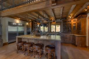 kitchen islands and breakfast bars 35 beautiful rustic kitchens design ideas designing idea