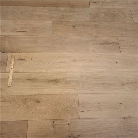 "7 1/2"" x 1/2"" European French Oak Unfinished (MICRO BEVEL"