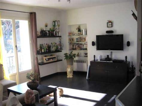 salon de la cuisine déco appartement de 60m2