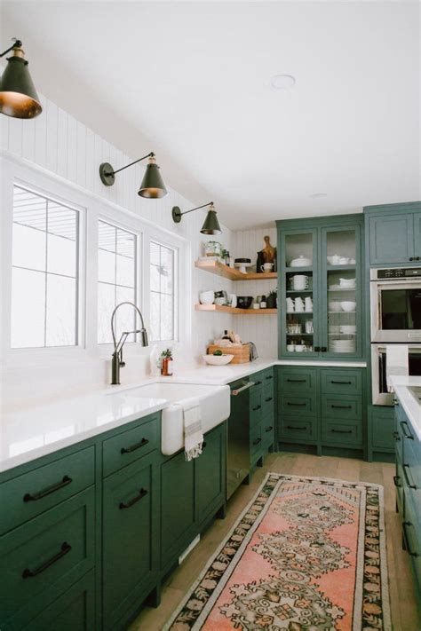 green kitchen cabinet inspiration kitchen  dining spaces green kitchen cabinets kitchen