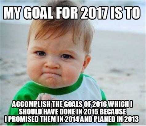 New Year Meme - why quot new year s resolution quot is a mistake