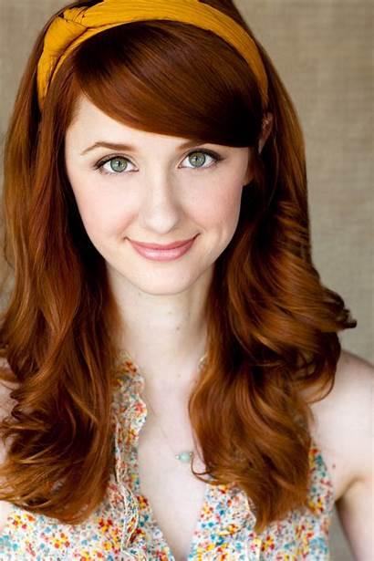 Spencer Laura Hair Redhead Jane Bennet Bang