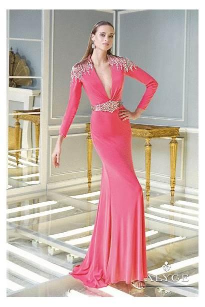Claudine Dresses 2328 Prom Sleeve Alyce Exclusive