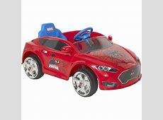 SpiderMan 6V Speed Electric BatteryPowered Coupe RideOn