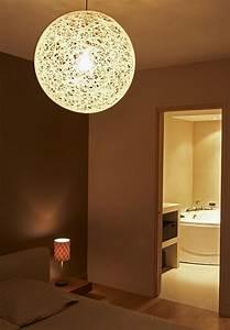 Lustre Pour Chambre : luminaire chambre parentale ~ Teatrodelosmanantiales.com Idées de Décoration