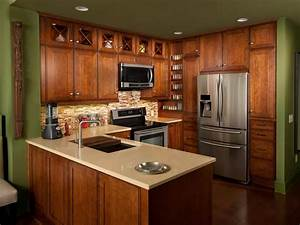 Kitchen theme ideas hgtv pictures tips inspiration hgtv for Kitchen cabinets lowes with red rose wall art