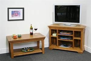 Petit Meuble Tele : meuble d 39 angle tv id es d 39 am nagement int rieur ~ Teatrodelosmanantiales.com Idées de Décoration