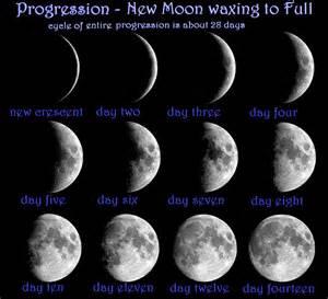 New Moon Progression | MAGICKWYRD