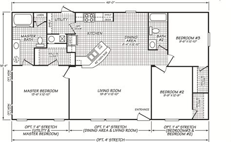 3 Bedroom Wide Floor Plans by 3 Bedroom Wide Floor Plans Search