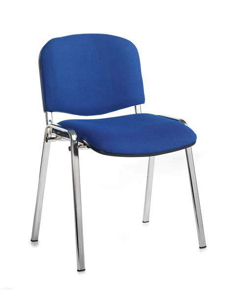taurus meeting room stackable chair with chrome frame and