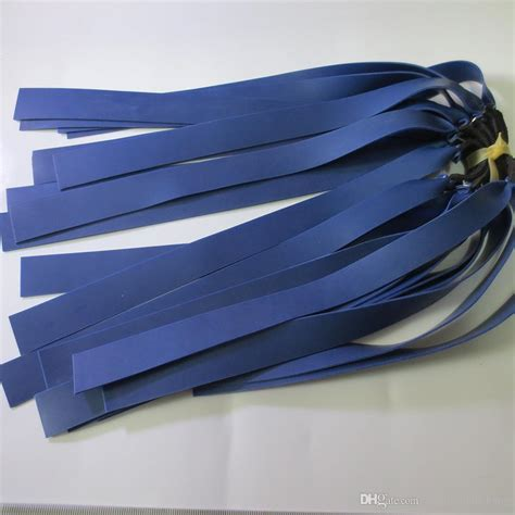 2019 1mm Blue Latex Replacement Flat Rubber Band Tube For