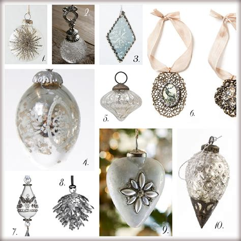 christmas tree with silver ornaments silver christmas ornaments pictures photos