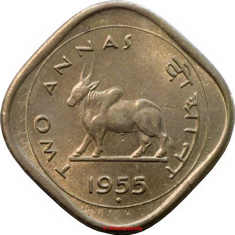 2 Annas - India - Numista