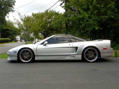 Modified Silver Cars by Buy Used 1991 Acura Nsx Sebring Silver Beautiful