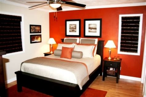 paint colors for bedrooms orange orange accents in bedrooms 68 stylish ideas digsdigs