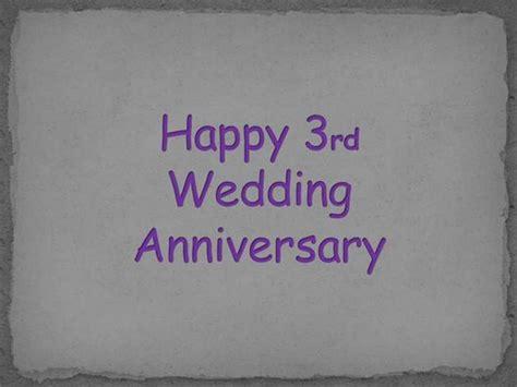 third wedding anniversary happy 3rd anniversary images www imgkid com the image kid has it
