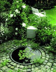 Small Garden Pond Idea