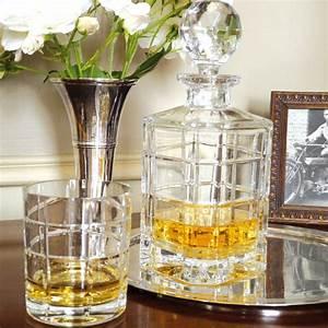 Service A Whisky : carafe whisky timesquare en cristal verrerie chic bruno evrard ~ Teatrodelosmanantiales.com Idées de Décoration