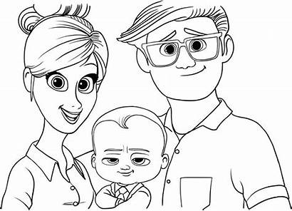 Boss Coloring Pages Parents Printable Dreamworks Tim