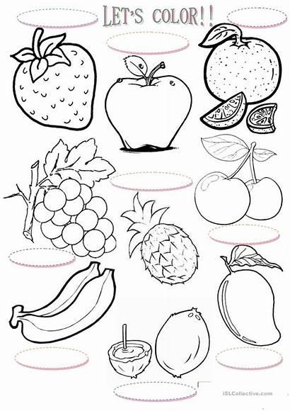 Esl Worksheets Let English Lets Islcollective Fruits