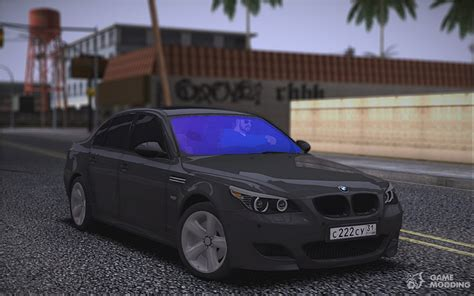 Mod Bmw S Gamemodding by Bmw M5 E60 For Gta San Andreas