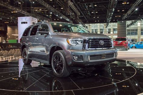 The 2018 Toyota Sequoia Gets Some Much Needed Attention