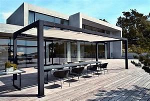 Pergola Metall Terrasse : pergola aus metall 40 inspirierende beispiele und ideen terrassen berdachung berdachungen ~ Sanjose-hotels-ca.com Haus und Dekorationen