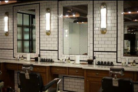 school barber station  images barber shop interior