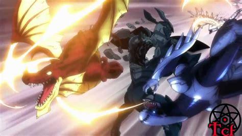 dragon fairy tail natsu gajeel slayers wendy vs