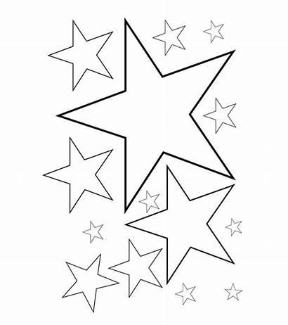Coloring Stars Pages Star Printable Malvorlagen Momjunction