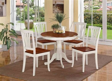 Use A Small Round Dining Table For Your Kitchen Dining