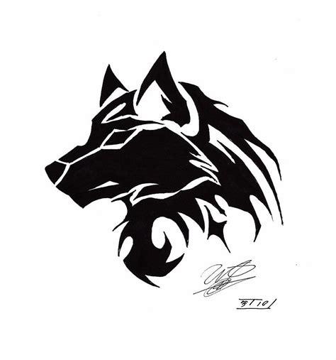 tribal wolf tattoo google search tatoo pinterest