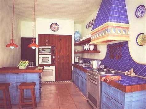 decoracion de cocinas  estilo mexicano hogares