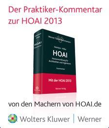 Die Hoai Und Ihre Leistungsphasen So Berechnet Der Architekt Sein Honorar by Hoai De Hoai Volltext Software Recht