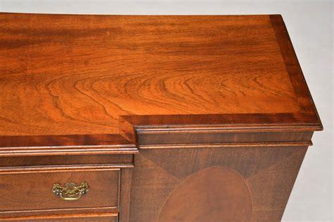 Breakfront Sideboard by Antique Mahogany Breakfront Sideboard Marylebone