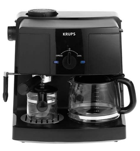 The top countries of suppliers. Krups Combination Coffee & Espresso Maker | Cutlery and More