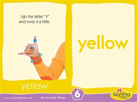 Items That Are The Color Yellow